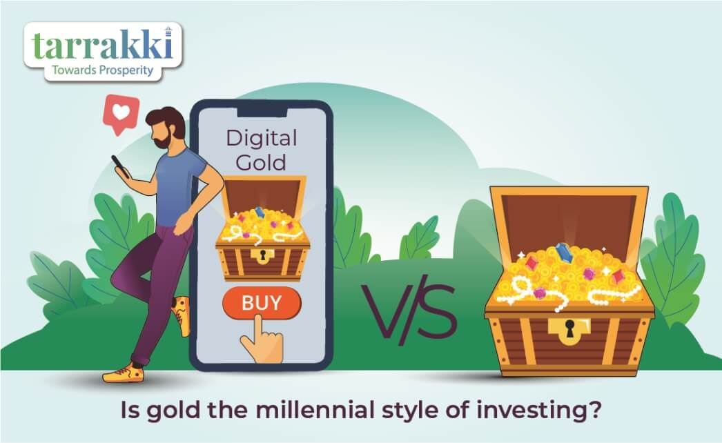 Is gold the millennial style of investing
